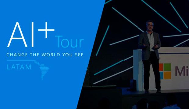 Avances Tecnológicos presente en el AI+ Tour de Microsoft