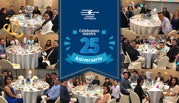 Avances Tecnológicos celebró sus 25 años de trayectoria en el sector TI